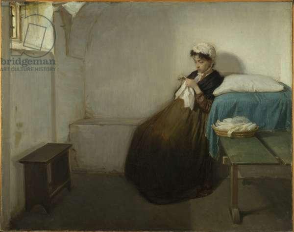 Luisa Sanfelice Imprisoned, 1874 (oil on canvas)