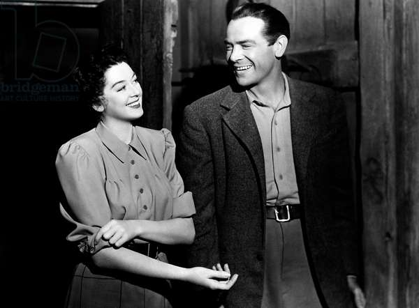 Rosalind Russell and Dean Jagger in 'Sister Kenny', 1946 (b/w photo)
