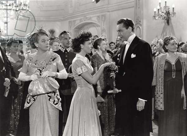 Ida Lupino on the set, 1940 (b/w photo)