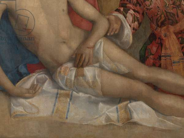 Lamentation of Christ (Compianto su Cristo morto), by Giovanni Bellini, 15th Century (oil on canvas)