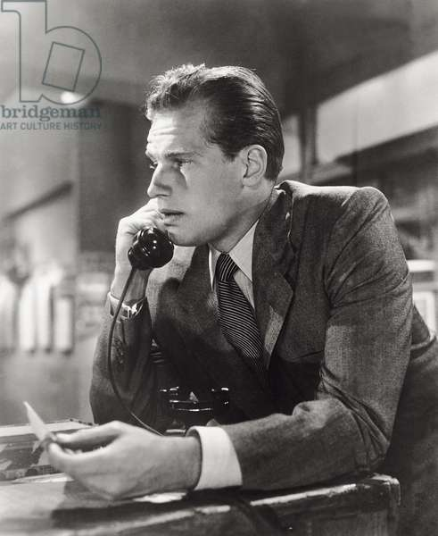 Charlton Heston in 'The Dark City'