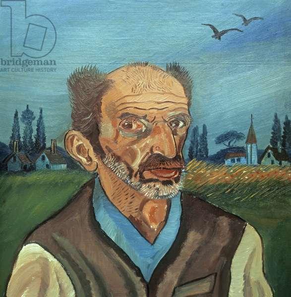 Self Portait (oil on canvas)
