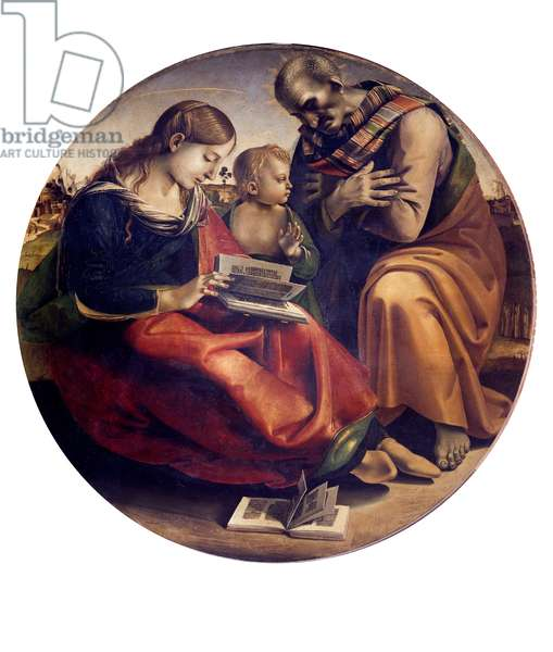 The Holy Family, 1490 (tempera on board)