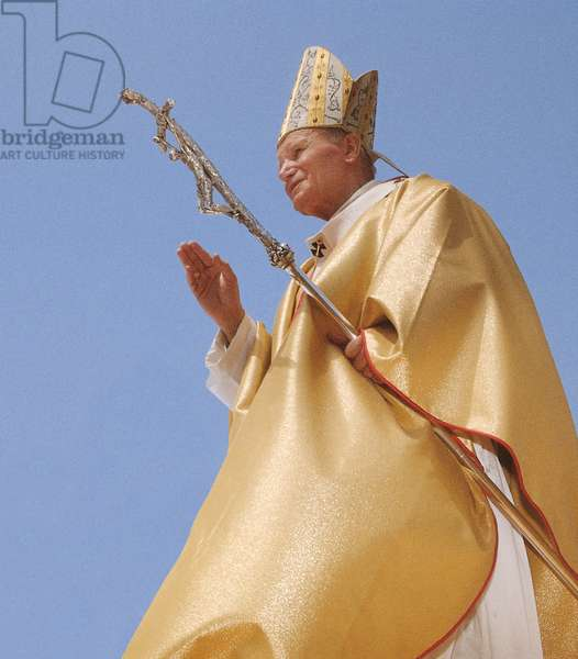 Pope John Paul II in Guinea, Conakry, Guinea