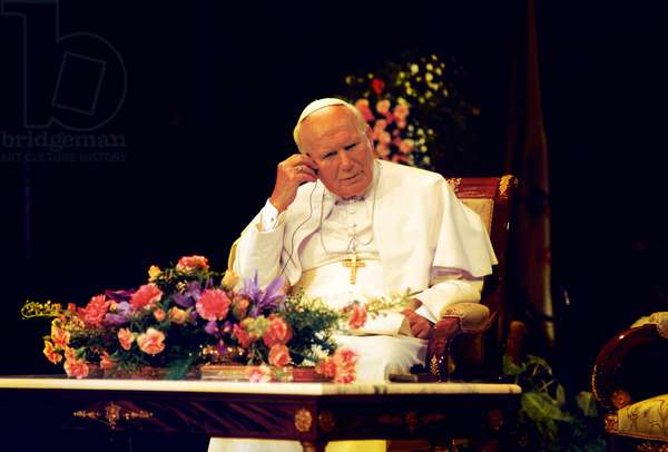 Pope John Paul II, Tunis, Tunisia