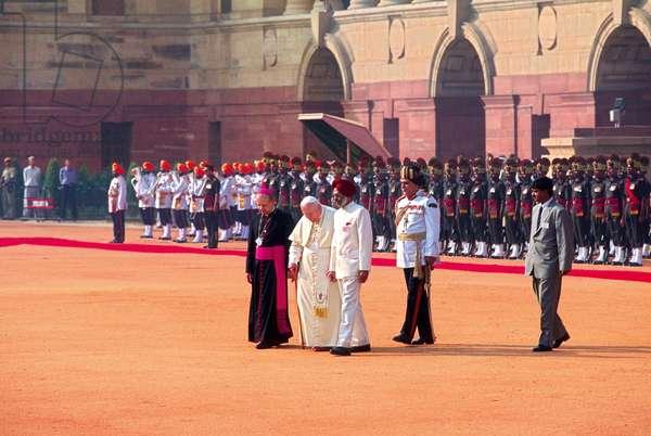 Pope John Paul II in New Delhi, New Delhi, India