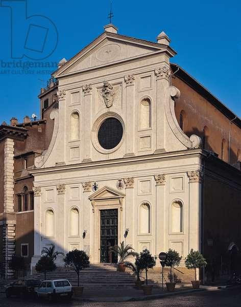 Santo Spirito in Sassia in Rome (Chiesa dell'ospedale di Santo Spirito in Sassia a Roma), by Antonio Cordini detto Antonio da Sangallo il Giovane, 1535 - 1545, 16th Century