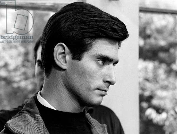 Portrait of Sami Frey, 1960s (b/w photo)