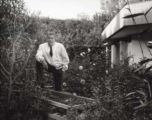 Portrait of Glenn Ford (b/w photo)