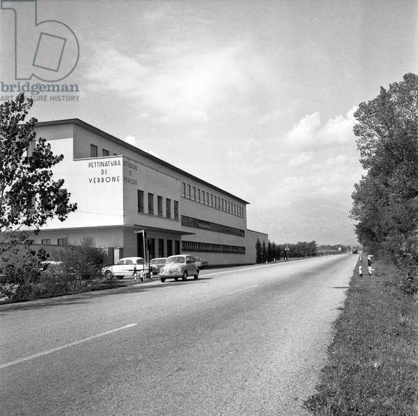 Pettinatura di Verrone wool factory in Biella, Biella, Italy
