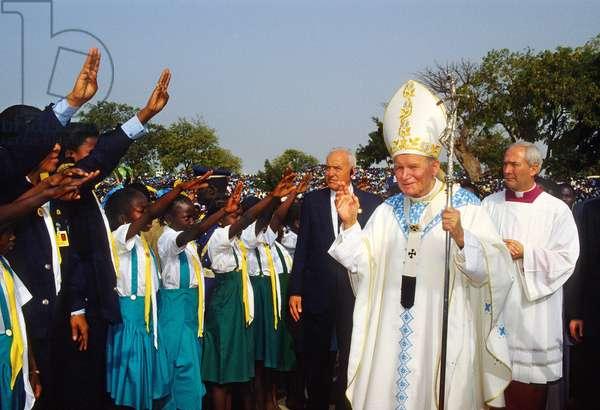 Pope John Paul II, Ponenguine, Senegal