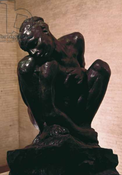 Crouching Woman (femme accroupie), by Auguste Rodin, 1882, 19th Century, bronze, 84 x 60 x 50 cm