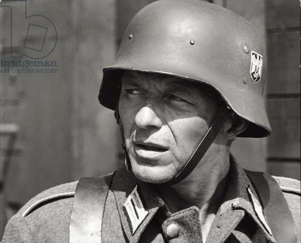 Frank Sinatra acting (b/w photo)