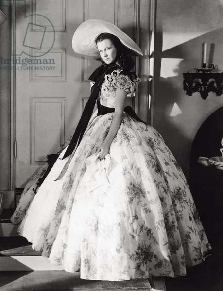 Vivien Leigh in a scene from the movie 'Gone with the Wind'
