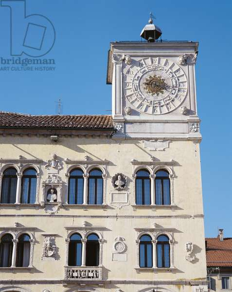 Palace of Prefecture of Belluno - former Palace of Chancellors (Palazzo della Prefettura di Belluno - già palazzo dei Rettori), by Giovanni Cani, 1491, 15th Century