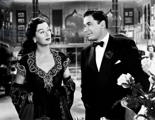 Rosalind Russell and Leo Genn in 'The Velvet Touch', 1948 (b/w photo)