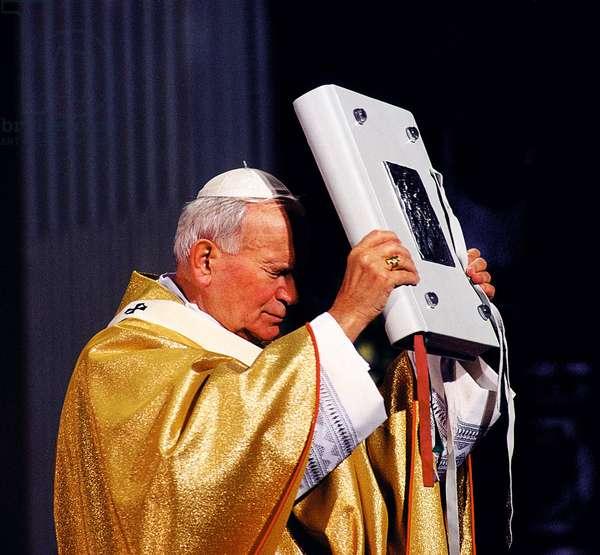 Pope John Paul II, San Benigno Canavese, Italy