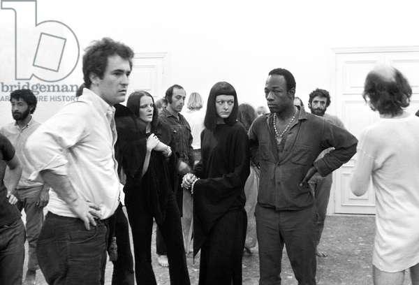 Bernardo Bertolucci in Love and Anger, Italy, 1967 (b/w photo)