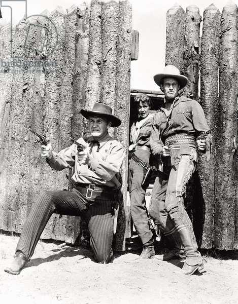 Charlton Heston in 'Pony Express'
