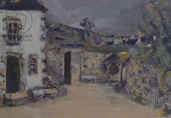 The Farm, 1940 (oil on canvas)