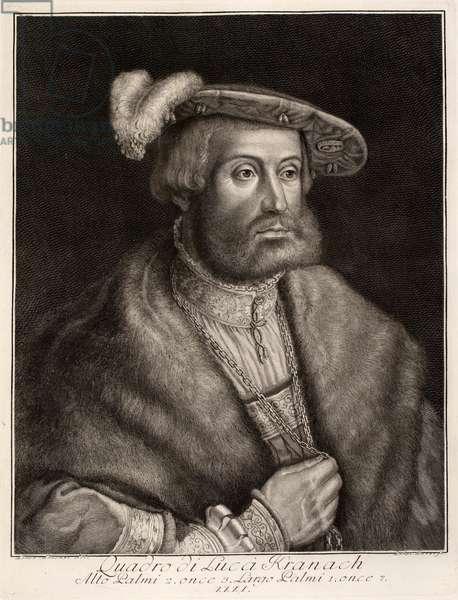 German Prince, 16th century (engraving)