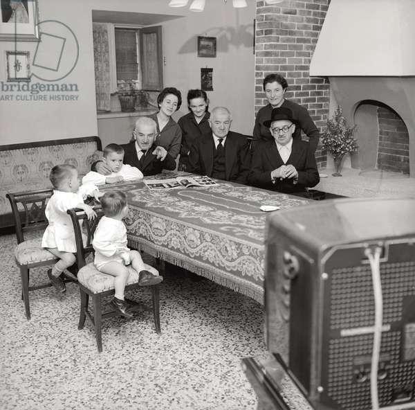 Family members of Pope John XXIII