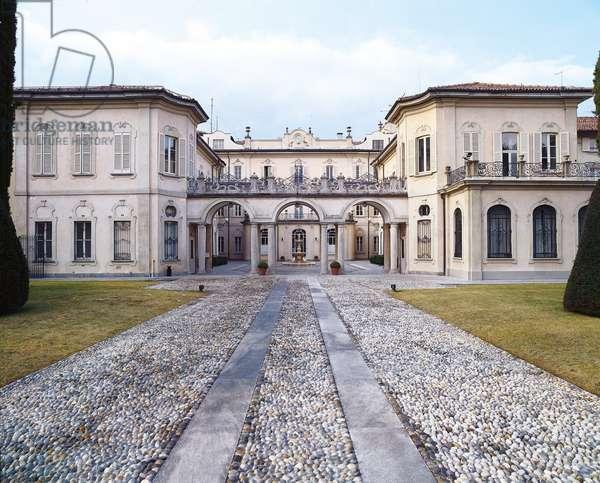 Palazzo della Prefettura formerly Villa Recalcati (Palazzo della Prefettura già Villa Recalcati), 18th Century