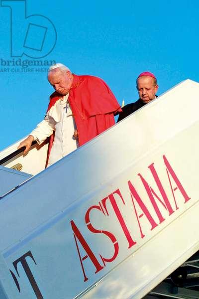 Pastoral Visit of Pope John Paul II to Kazakhstan, Astana, Kazakistan