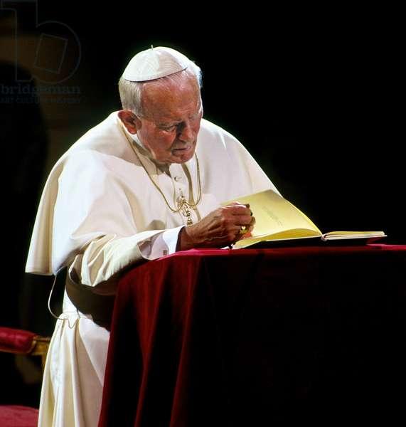 Pope John Paul II, Bruxelles, Belgium
