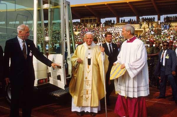 Pope John Paul II, Conakry, Guinea