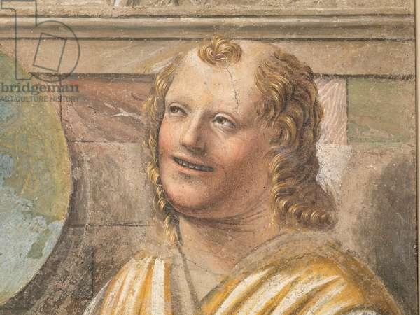Democritus, by Bramante, c. 1487, 15th century (fresco)