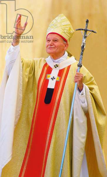 Pope John Paul II, Innsbruck, Austria