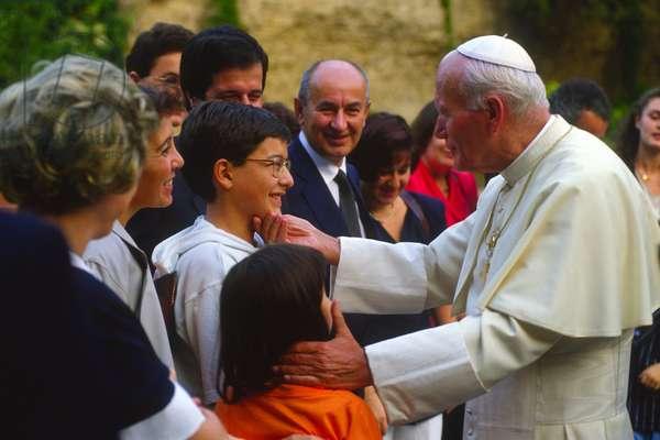 Pope John Paul II, Castel Gandolfo, Italy