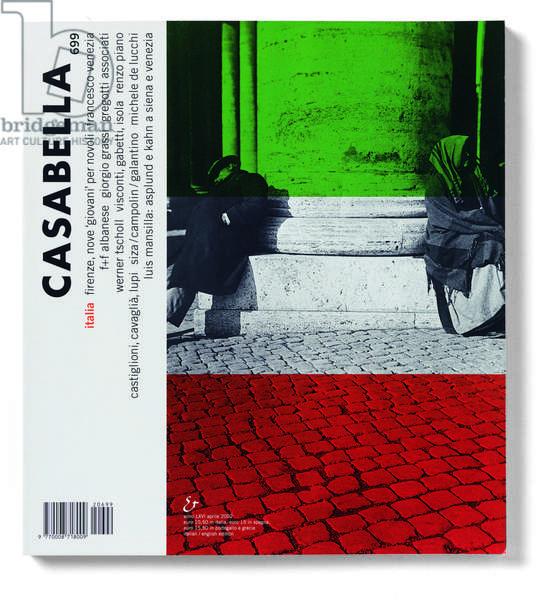 Casabella, No. 699, April 2002, 20th century, Arnoldo Mondadori Editore, Milan, 28 x 31 cm.
