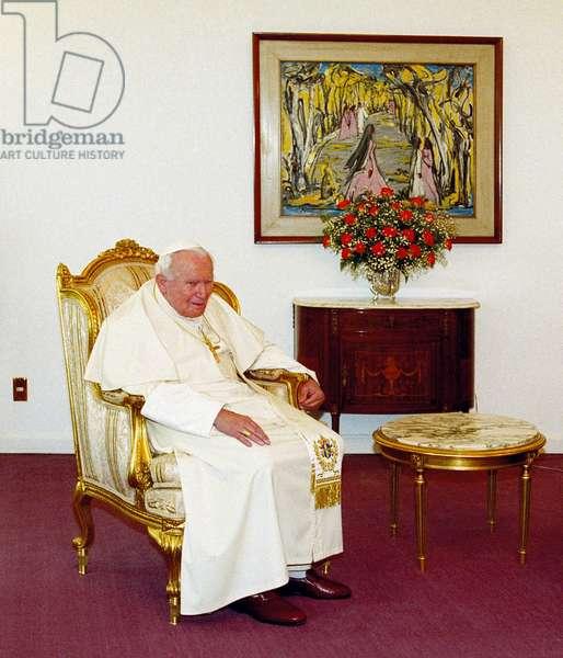 Pope John Paul II, Cairo, Egypt