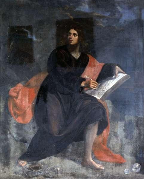 Saint John, by Orazio Fidani, half of the 17th Century, oil on canvas