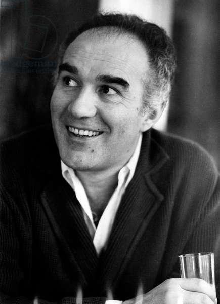 Close-up of Michel Piccoli