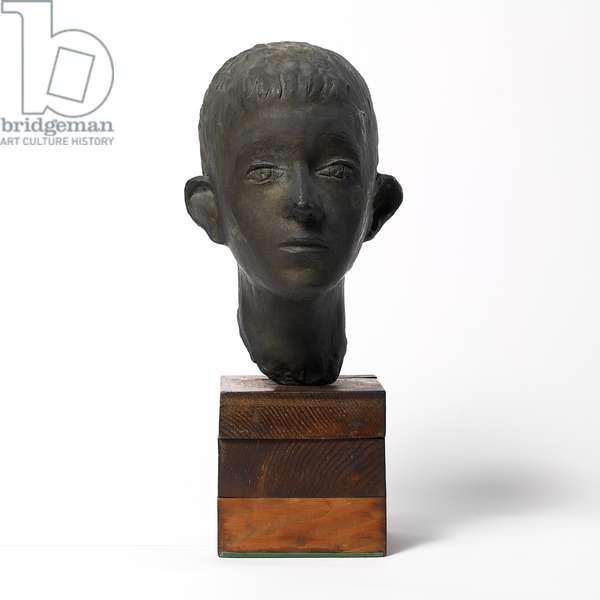 Head of a Child, 1932-35 (bronze)