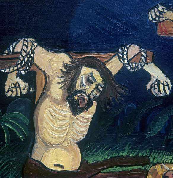 Crucifixion, 1952-62 (oil on canvas)
