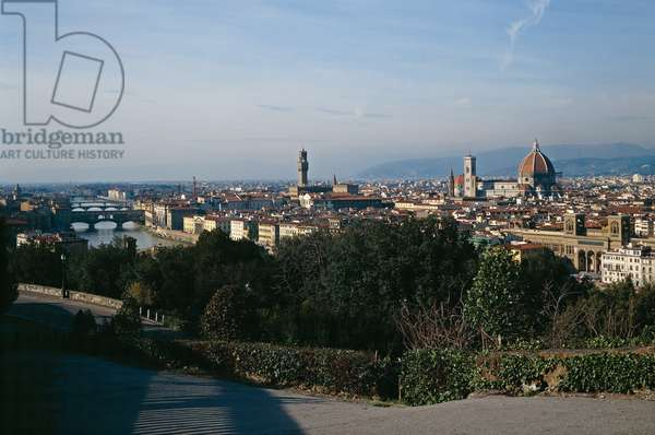 View of Florence from Piazzale Michelangelo (Veduta di Firenze da Piazzale Michelangelo)