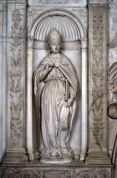 Statue of Saint Pius or Saint Augustine, 1501