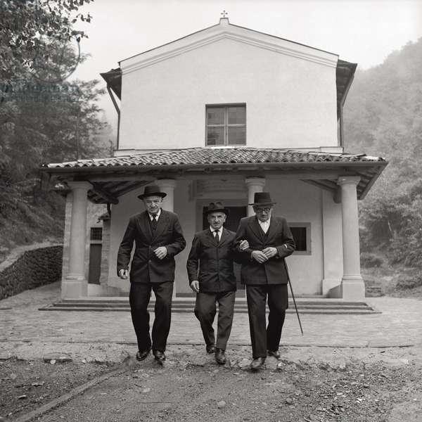 The three brothers of Pope John XXIII