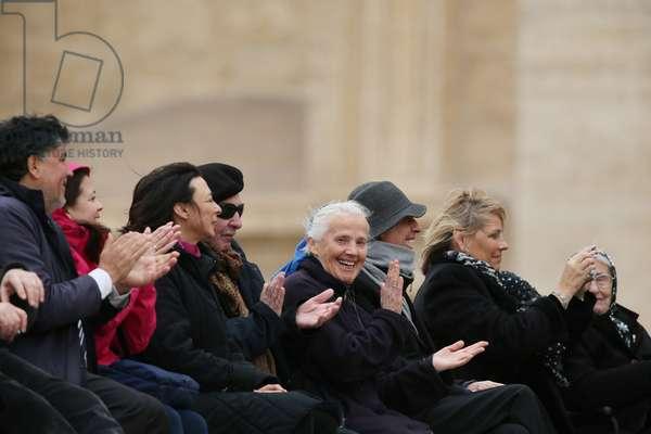 Genevieve Jeanningros, Vatican, 2016 (photo)
