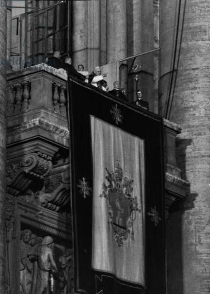 Urbi et Orbi Blessing by Pope John XXIII