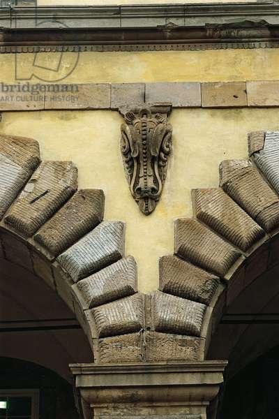 Lucca Ducal Palace (Prefecture Palace) (Palazzo Ducale (Palazzo della Prefettura) di Lucca), by Lorenzo Nottolini, Filippo Juvarra (or Juvara), Bartolomeo Ammannati, 14th Century