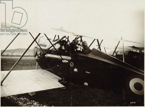 Major D'Annunzio and his pilot the Captain Palli, Italy