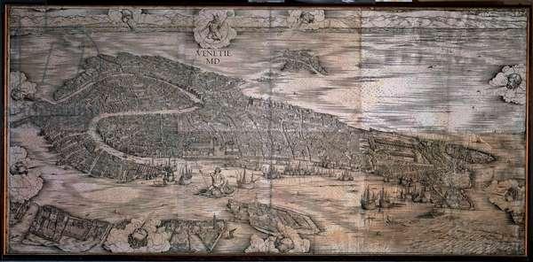 Prospective view of Venice, 1498-1500