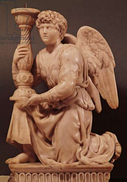Angel from the Ark of Saint Dominic (Arca di San Domenico), 1494-95 (marble)