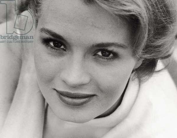 Portrait of Angie Dickinson, 1961 (b/w photo)