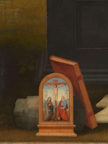 The Vision of St. Bernard (Visione di san Bernardo), by Fra Bartolomeo, 1504-1507, 16th century (oil on board), 215 x 231 cm